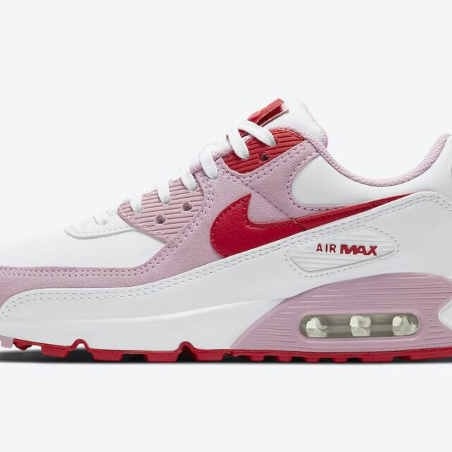 """ナイキ エア マックス 90 """"バレンタインズデー"""" Nike-Air-Max-90-Valentines-Day-DD8029-100-side1"""