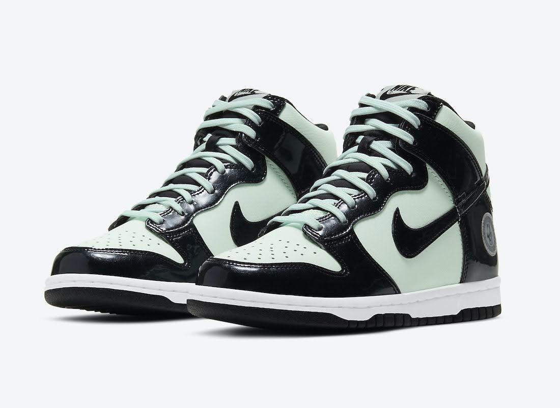 """ナイキ ダンク ハイ """"オールスター"""" Nike-Dunk-High-All-Star-2021-DD1846-300-pair"""