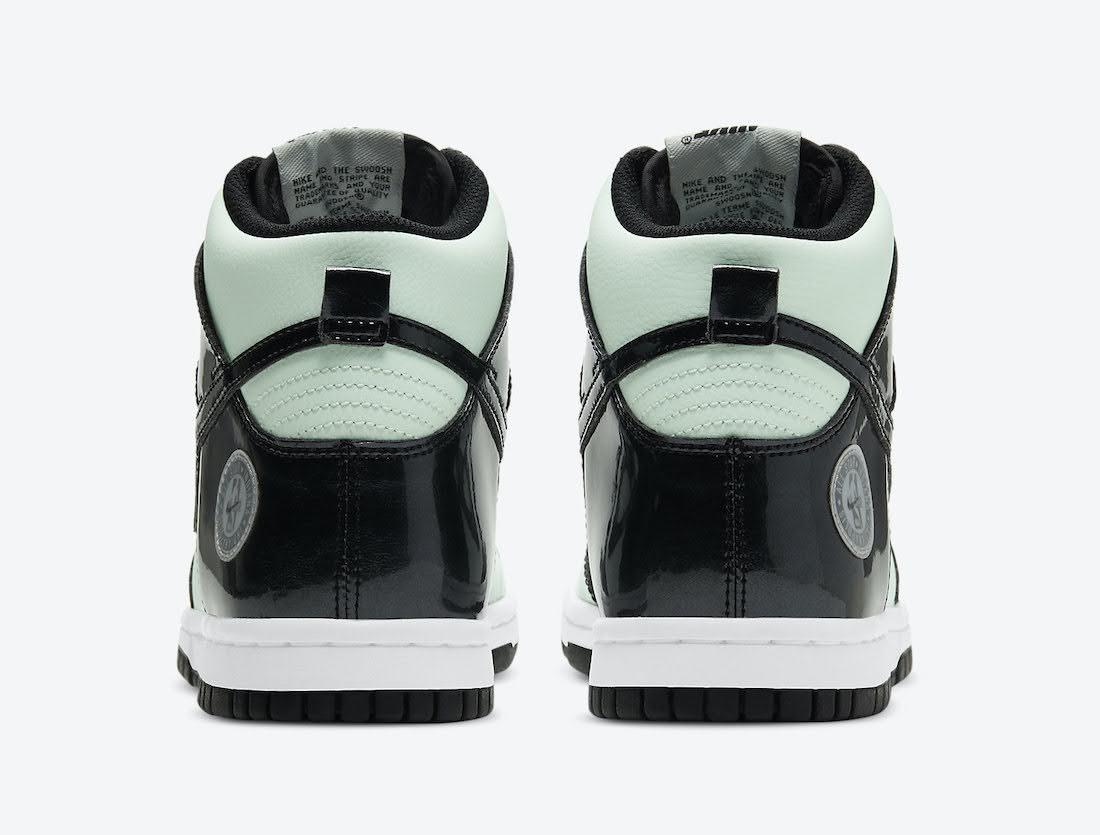 """ナイキ ダンク ハイ """"オールスター"""" Nike-Dunk-High-All-Star-2021-DD1846-300-heel"""