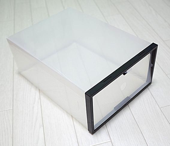 セリア スニーカー 収納 シューズ ボックス Seria-Sneaker-Storage-Box