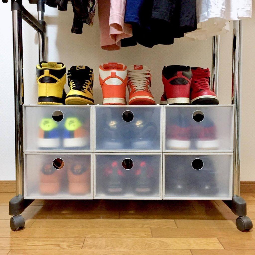 スニーカー 収納 ボックス ストレージ 箱 ケース Sneaker storage box ideas