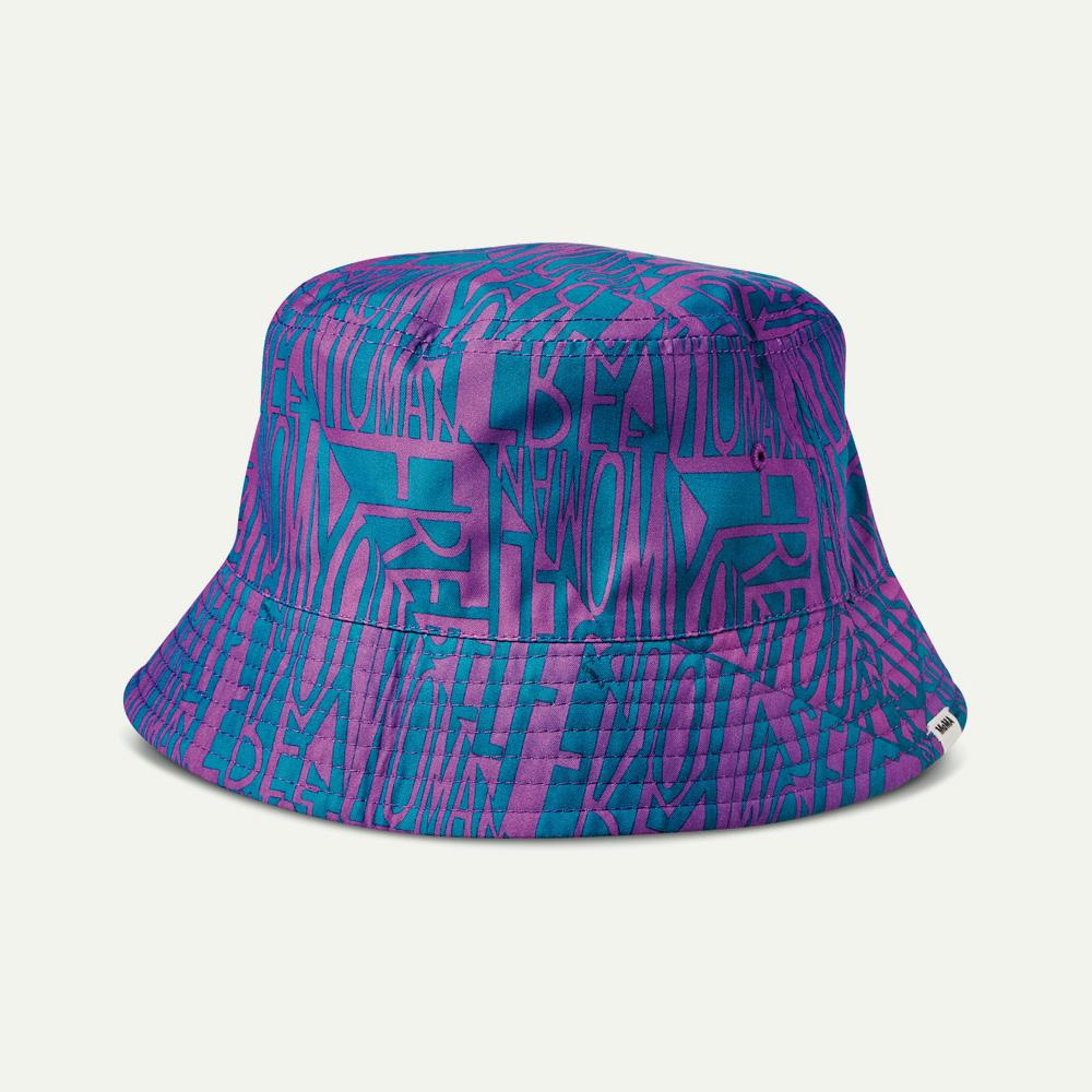 モマ バンズ ヴァンズ コラボ VN0A4SC91IC VANS X MOMA RINGGOLD HAT (MOMA) FAITH RINGGOLD blue