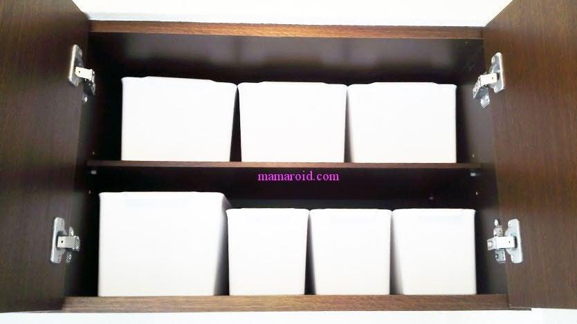 ホワイトケースをシューズケースに sneakers_interior_ideas_10