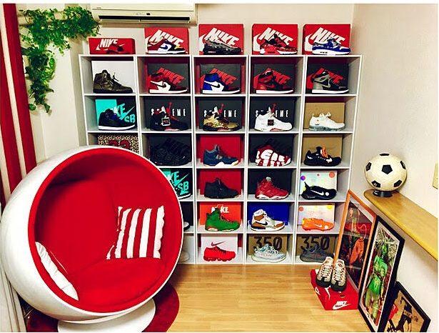 便利なスニーカー収納アイテムで玄関をスッキリ! sneakers_interior_ideas_14
