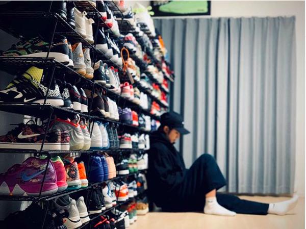 2:並べる収納 sneakers_interior_ideas_3