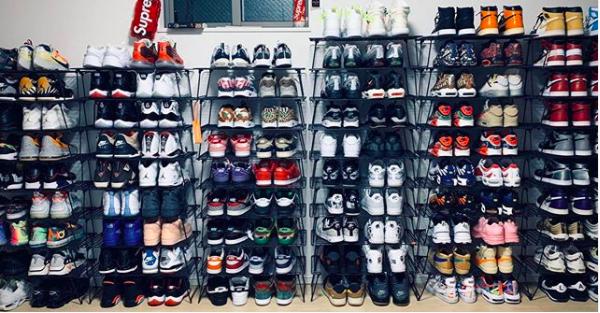 2:並べる収納 sneakers_interior_ideas_4