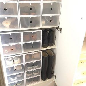 クリアのシューズケース sneakers_interior_ideas_8