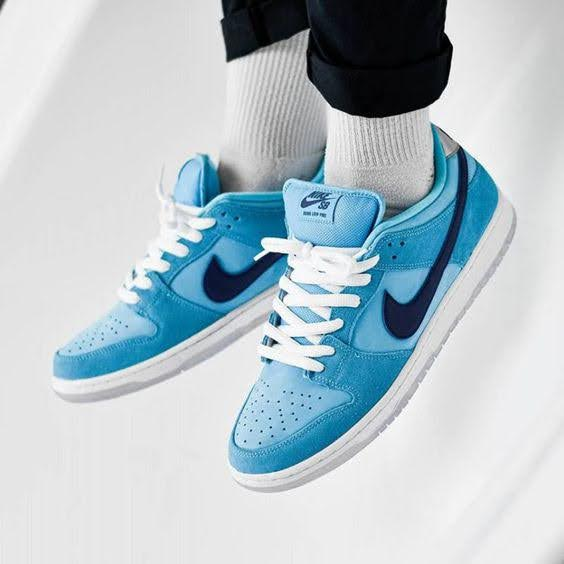 Nike SB Dunk Low Pro Blue Fury (BQ6817-400)