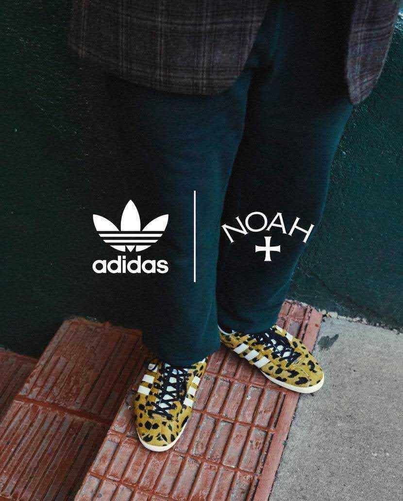 """ノア × アディダス オリジナルス ガゼル OG 全2色Noah x Adidas Gazelle OG """"cheetah""""-FY5378-style3"""