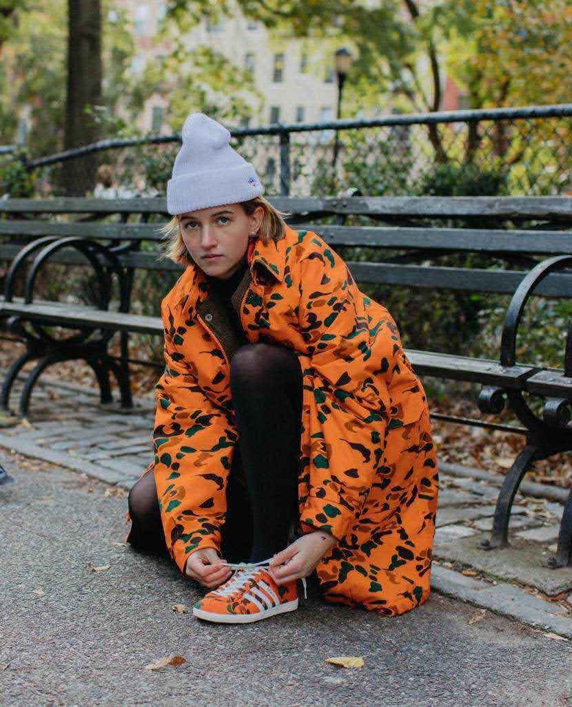 """ノア × アディダス オリジナルス ガゼル OG 全2色 Noah x Adidas Gazelle OG """"Orange Camo""""-style3"""