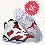 """ナイキ エア ジョーダン 6 """"カーマイン""""-Nike-2021-Air-Jordan-6-Carmine-CT8529-106-pair-main"""