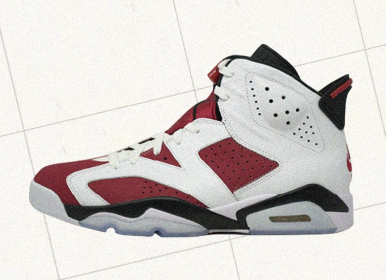 """ナイキ エア ジョーダン 6 """"カーマイン""""-Nike-2021-Air-Jordan-6-Carmine-CT8529-106-side"""