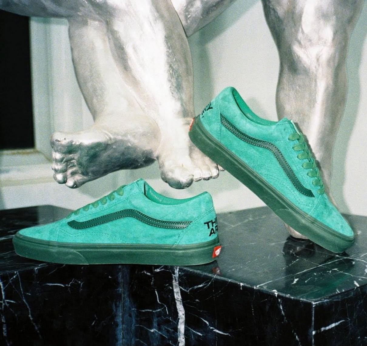 """バンズ x ゼイ アー """"ザ イヤー オブ ザ OX"""" コレクション vans-they-are-the-yaer-of-the-ox-collection-oldskool-green-look"""