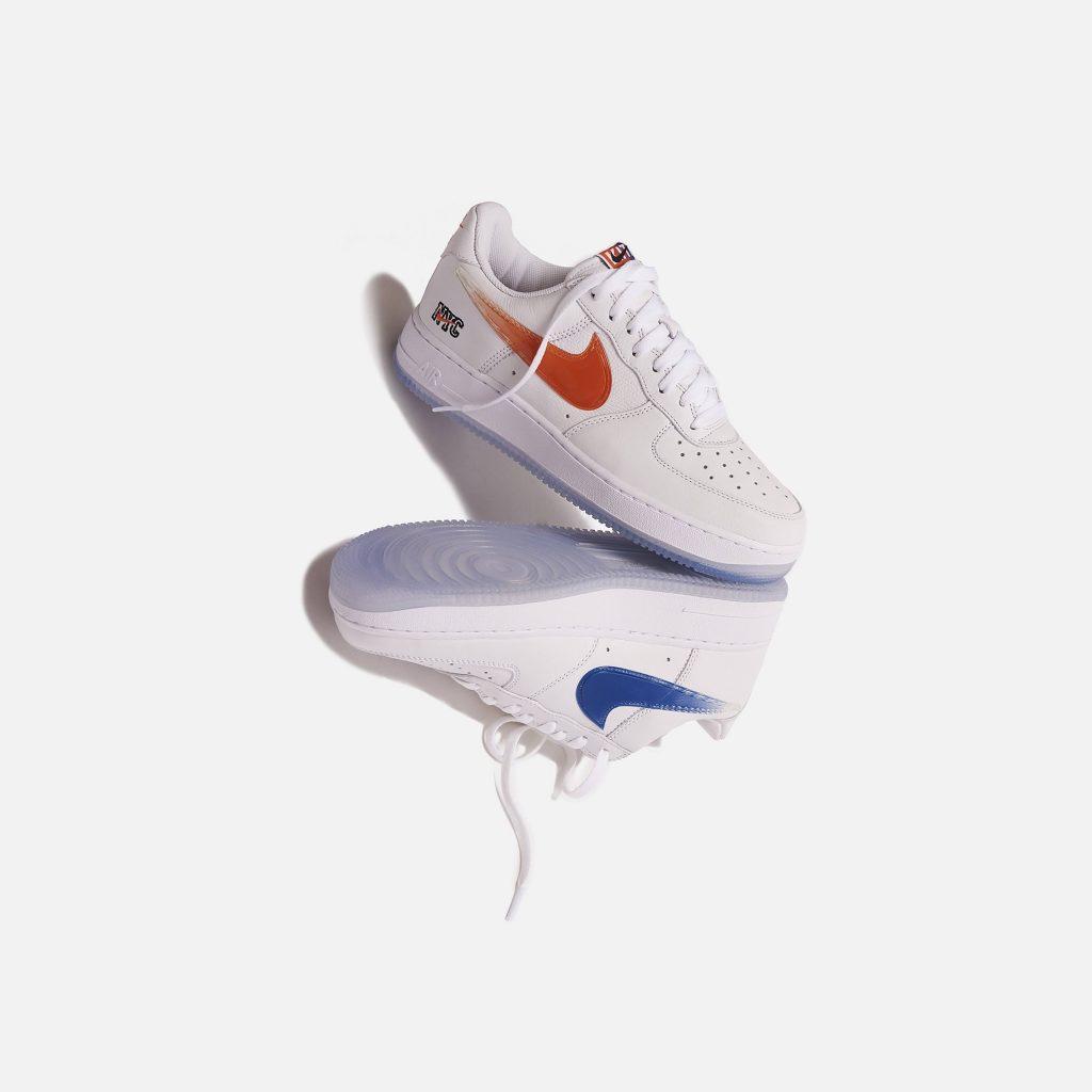 """キス x ナイキ エア フォース 1 ロー """"NYC""""-Kith-Nike-Air-Force-1-NYC-White-CZ7928-100-pair-main"""