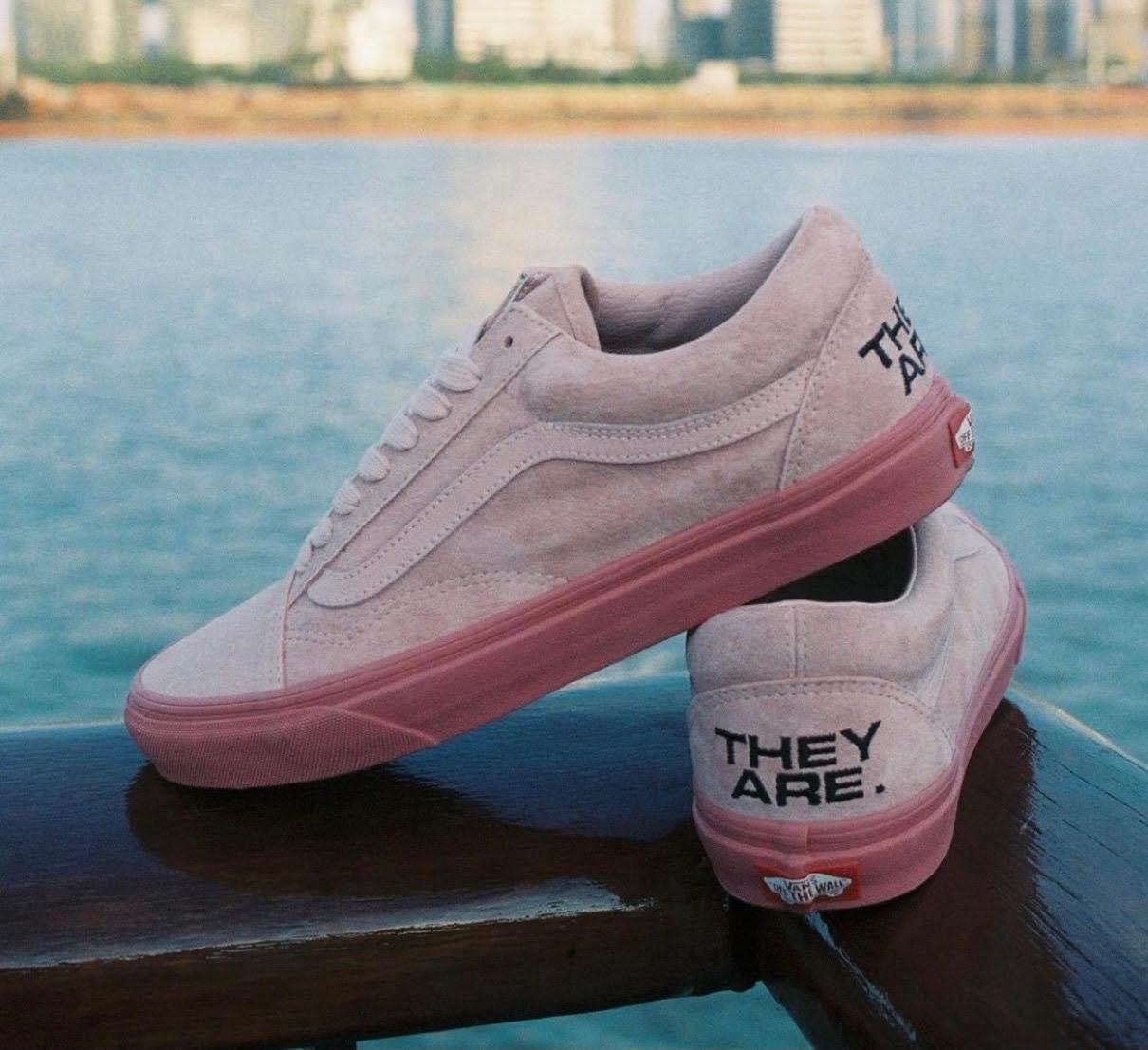 """バンズ x ゼイ アー """"ザ イヤー オブ ザ OX"""" コレクション vans-they-are-the-yaer-of-the-ox-collection-oldskool-pink-look"""