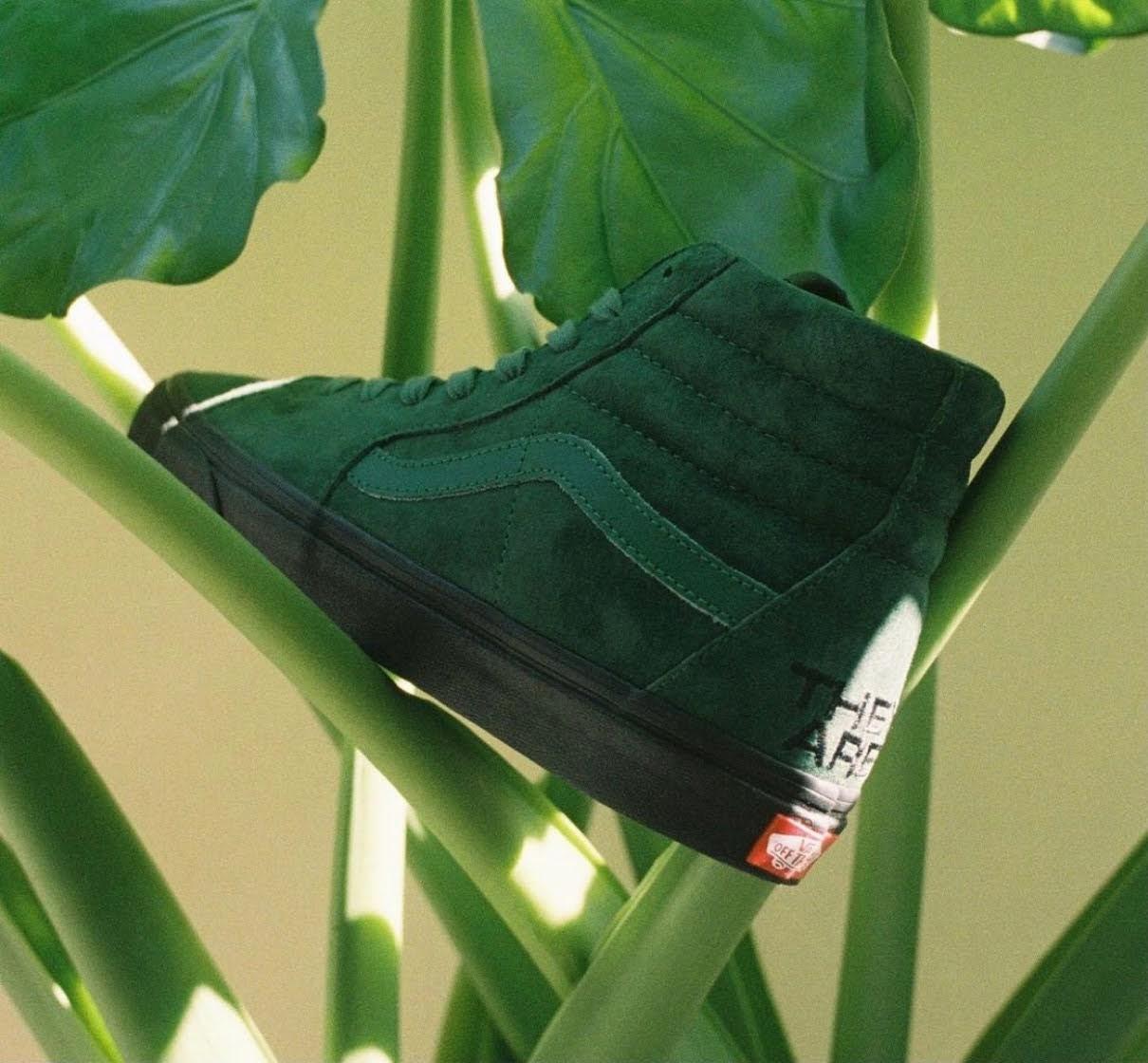 """バンズ x ゼイ アー """"ザ イヤー オブ ザ OX"""" コレクション vans-they-are-the-yaer-of-the-ox-collection-sk8-hi-green-look"""