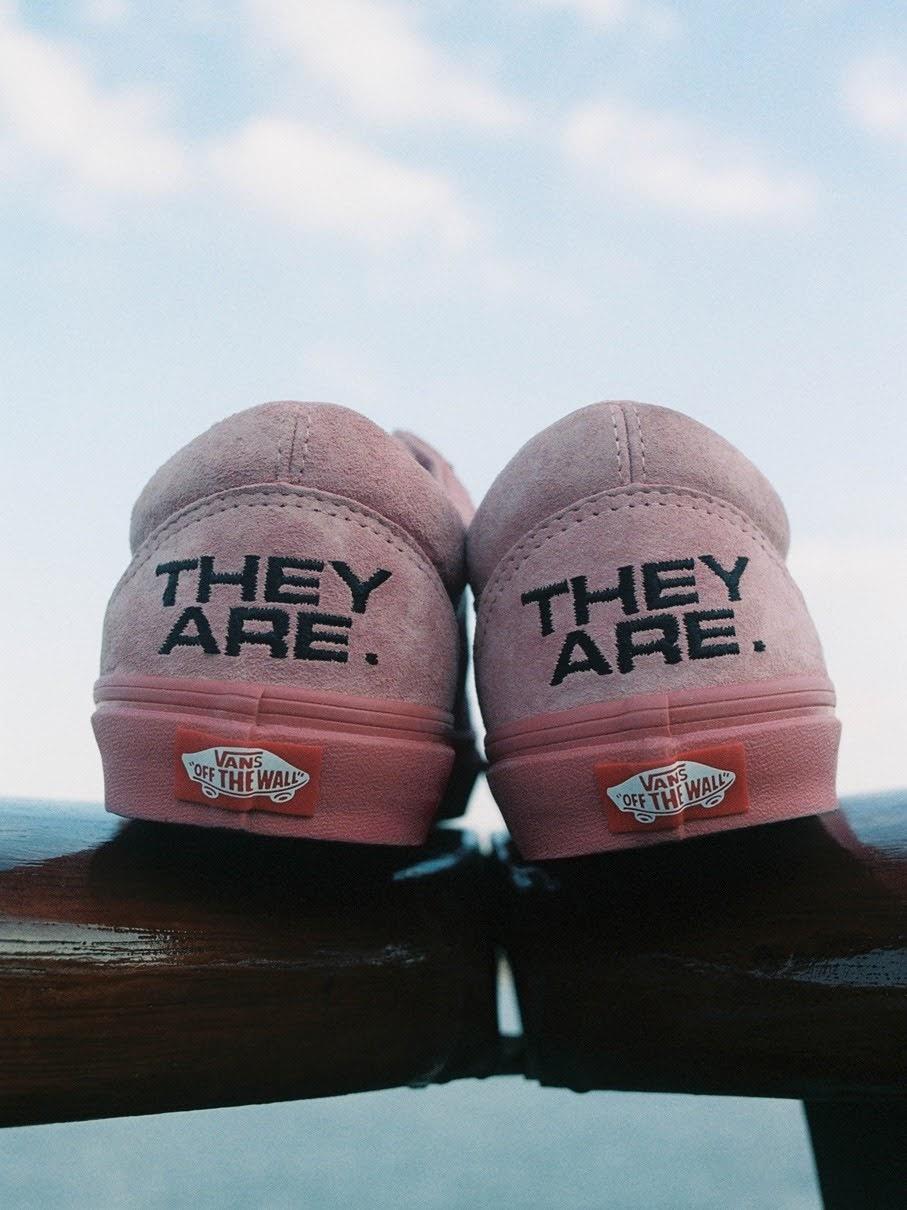 """バンズ x ゼイ アー """"ザ イヤー オブ ザ OX"""" コレクション vans-they-are-the-yaer-of-the-ox-collection-oldskool-pink-look2"""