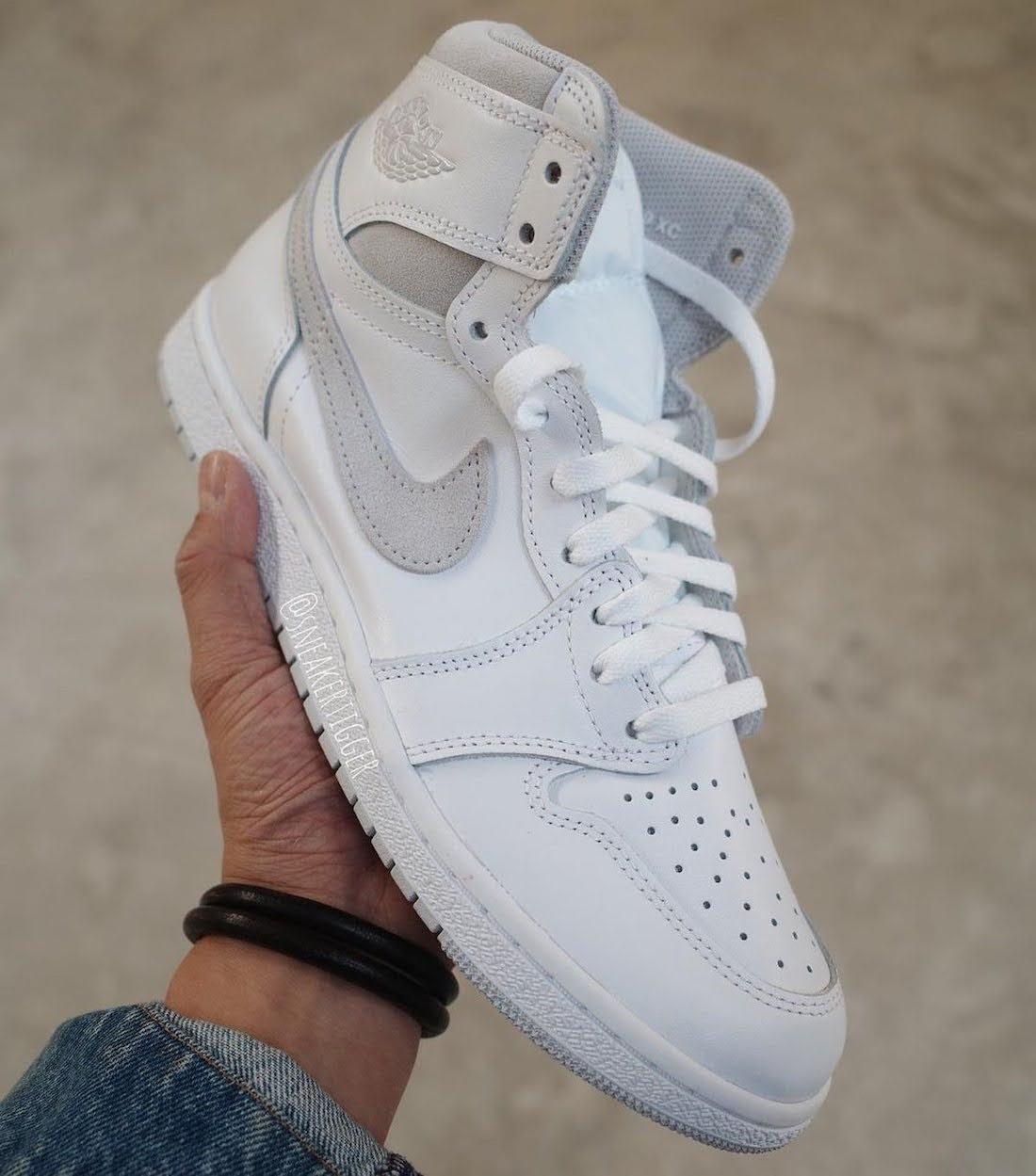 """ナイキ エアジョーダン1 ハイ 85 """"ニュートラルグレー""""-Nike-Air-Jordan-1-High-85-Neutral-Grey-BQ4422-100-2021-side"""