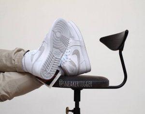 """ナイキ エアジョーダン1 ハイ 85 """"ニュートラルグレー""""-Nike-Air-Jordan-1-High-85-Neutral-Grey-BQ4422-100-2021-on-feet2"""