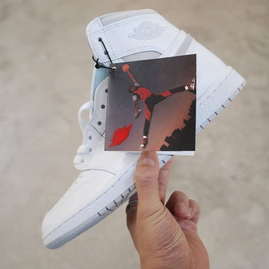 """ナイキ エアジョーダン1 ハイ 85 """"ニュートラルグレー""""-Nike-Air-Jordan-1-High-85-Neutral-Grey-BQ4422-100-2021-side-with-tag"""