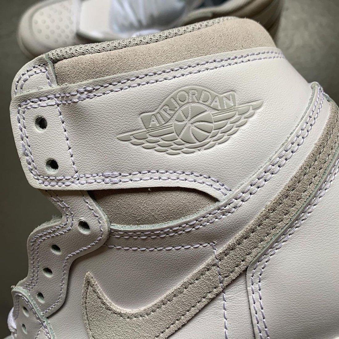 """ナイキ エアジョーダン1 ハイ 85 """"ニュートラルグレー""""-Nike-Air-Jordan-1-High-85-Neutral-Grey-BQ4422-100 detail"""