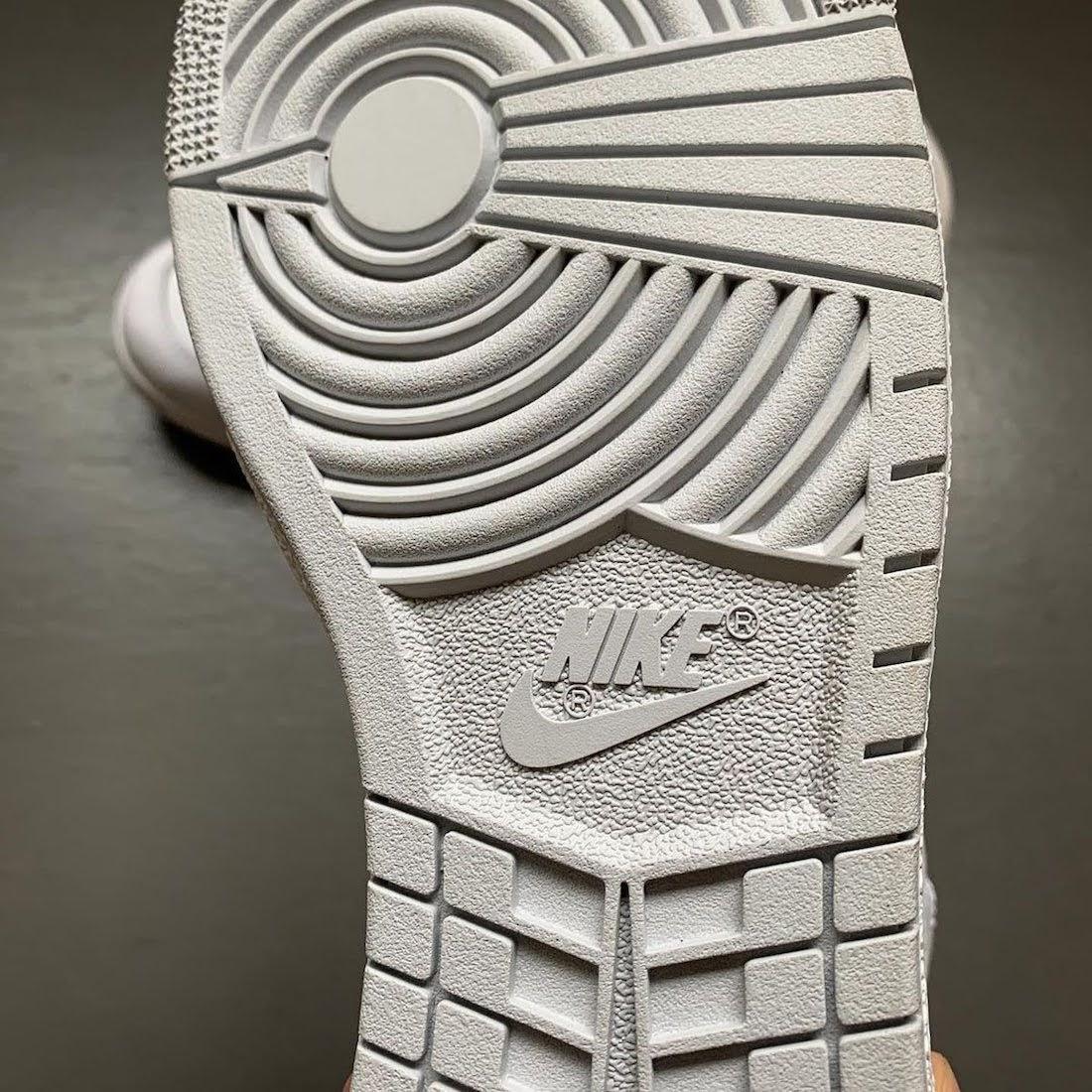 """ナイキ エアジョーダン1 ハイ 85 """"ニュートラルグレー""""-Nike-Air-Jordan-1-High-85-Neutral-Grey-BQ4422-100-2021-sole"""