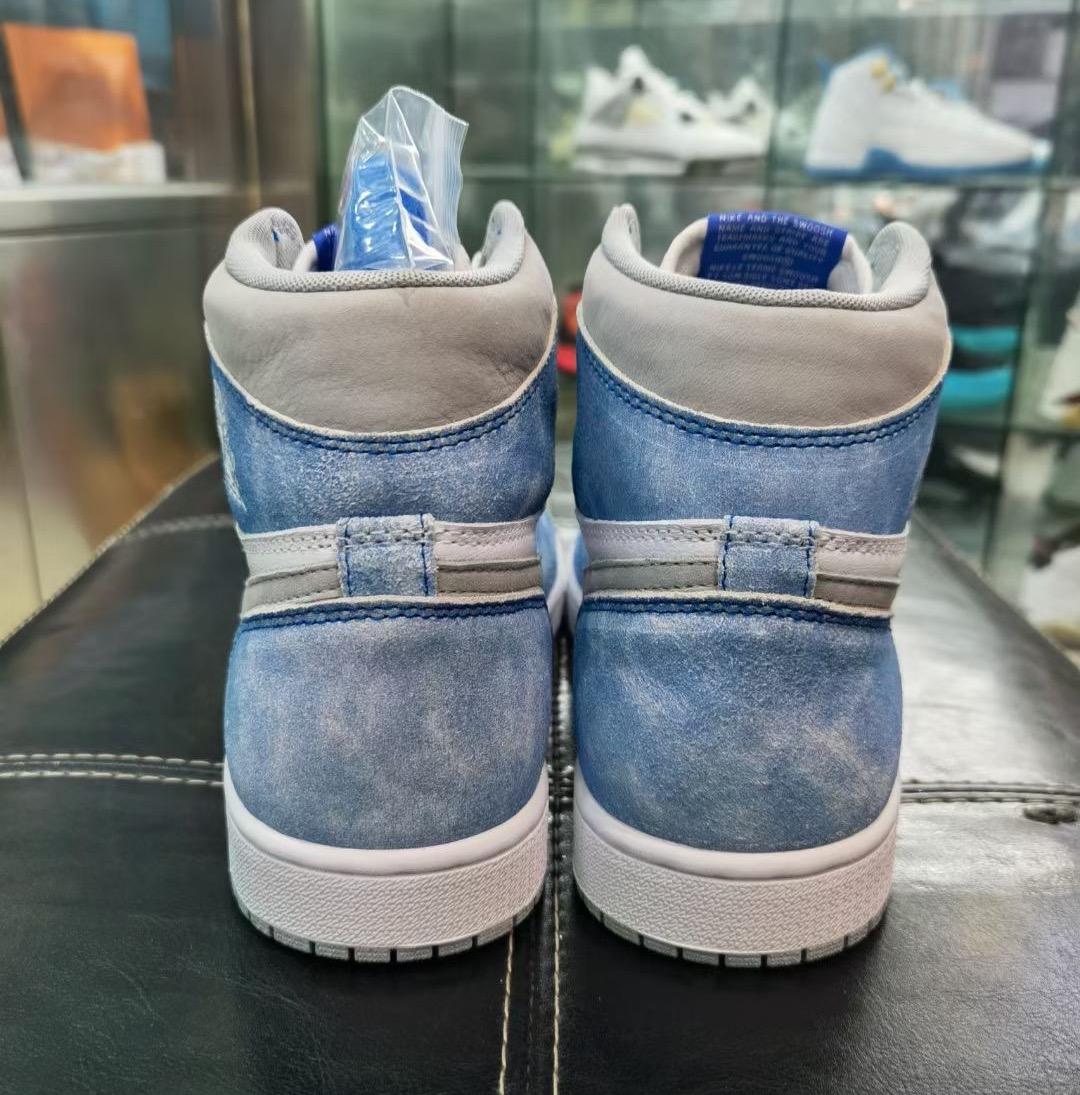 """ナイキ エア ジョーダン 1 ハイ OG """"ハイパーロイヤル"""" Nike-Air-Jordan-1-Hyper-Royal-555088-402 detail"""