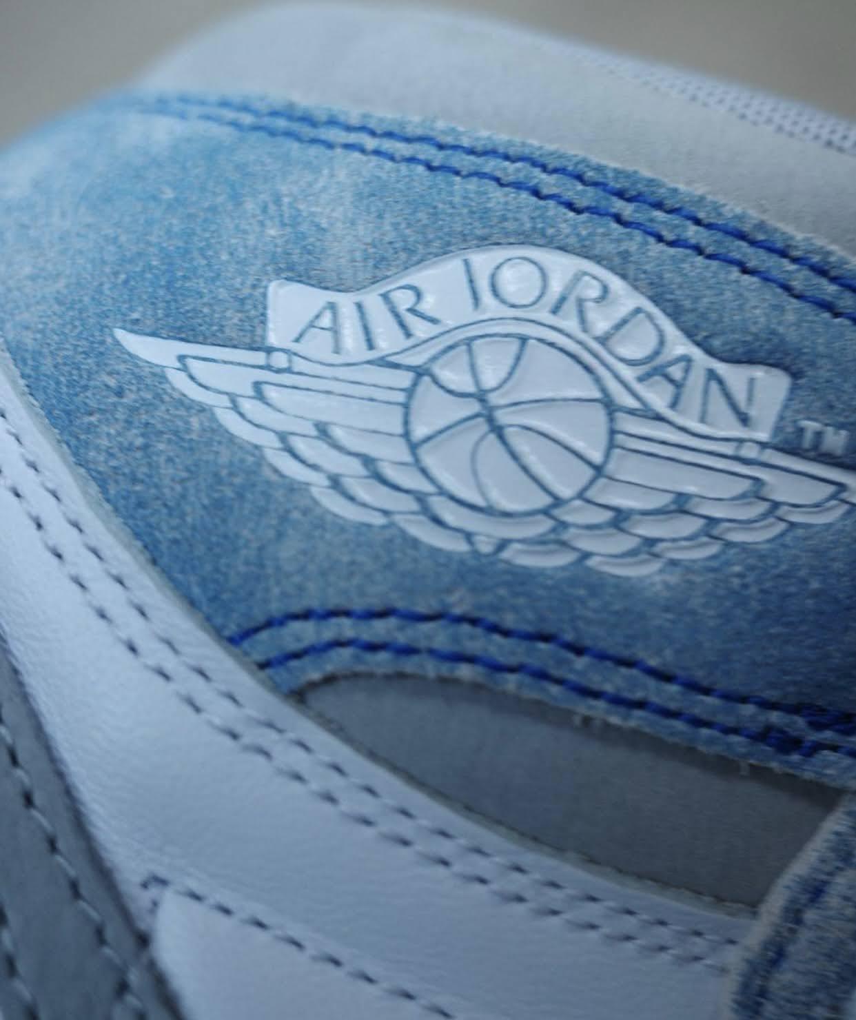 """ナイキ エア ジョーダン 1 ハイ OG """"ハイパーロイヤル"""" Nike-Air-Jordan-1-Hyper-Royal-555088-402-10-wing-logo"""