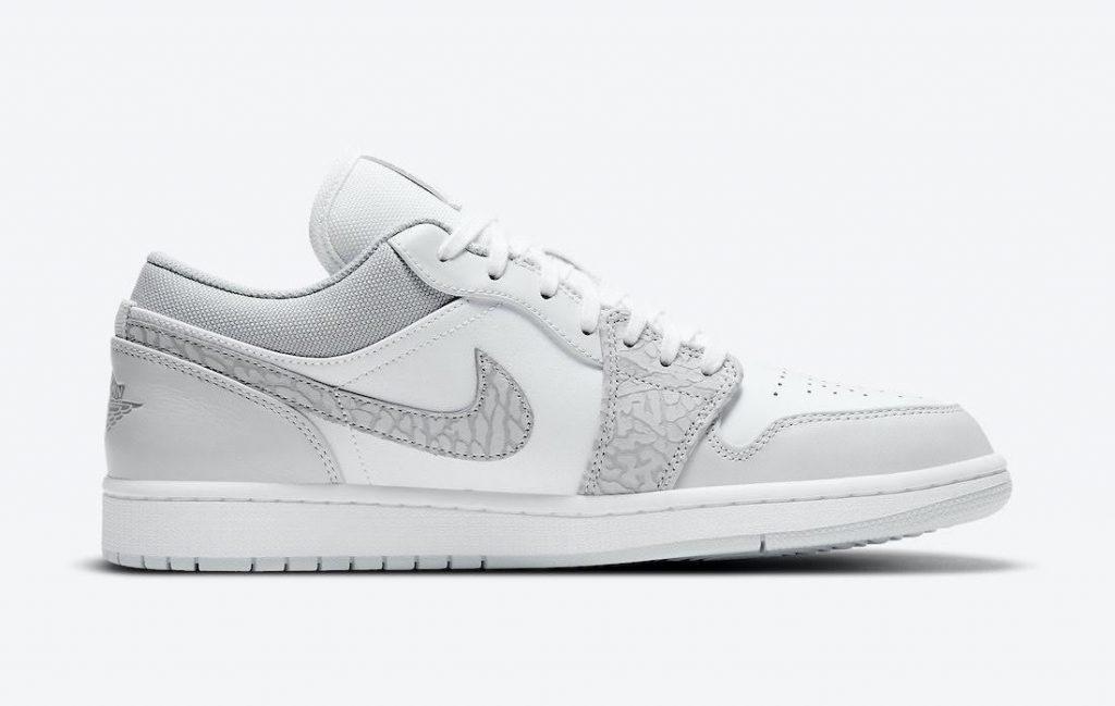 """ナイキ エア ジョーダン 1 ロー PRM """"エレファントプリント""""-Nike-Air-Jordan-1-Low-PRM-Elephant-Print-DH4269-100-side2"""