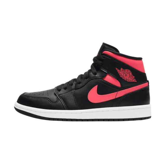 """ナイキ ウィメンズ エア ジョーダン 1 ミッド """"サイレン レッド"""" Nike-Air-Jordan-1-Mid-Siren-Red-BQ6472-004-side square"""