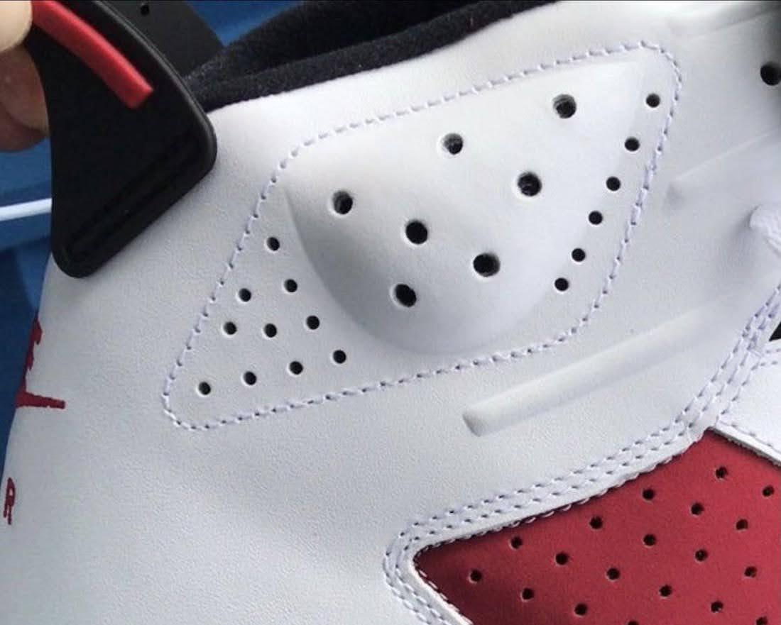 """ナイキ エア ジョーダン 6 """"カーマイン""""-Nike-2021-Air-Jordan-6-Carmine-CT8529-106-detail"""