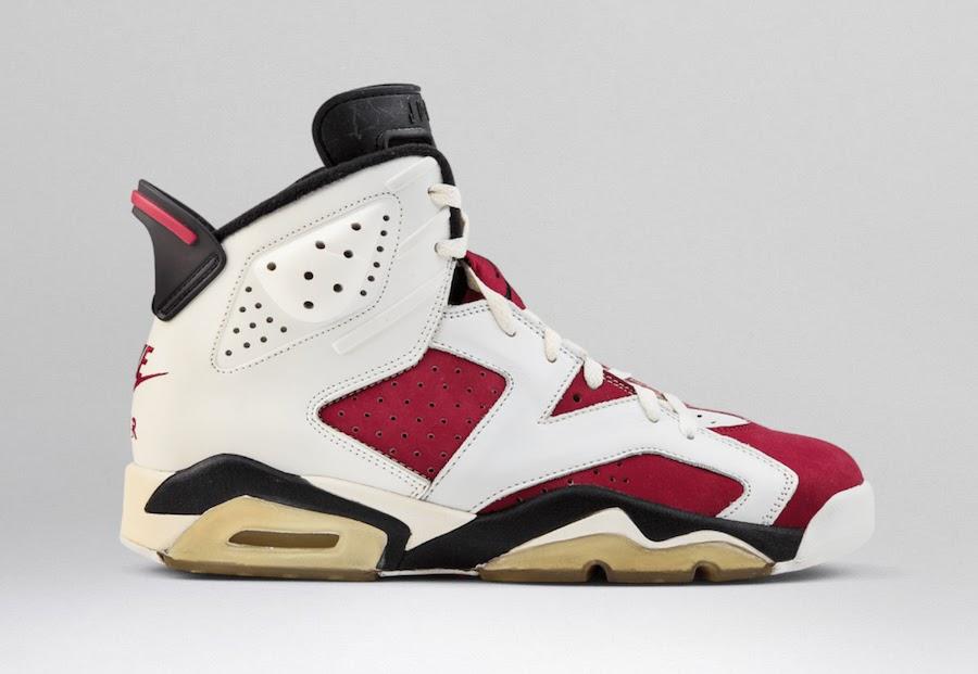 """ナイキ エア ジョーダン 6 """"カーマイン""""-Nike-2021-Air-Jordan-6-Carmine-CT8529-106-side2"""