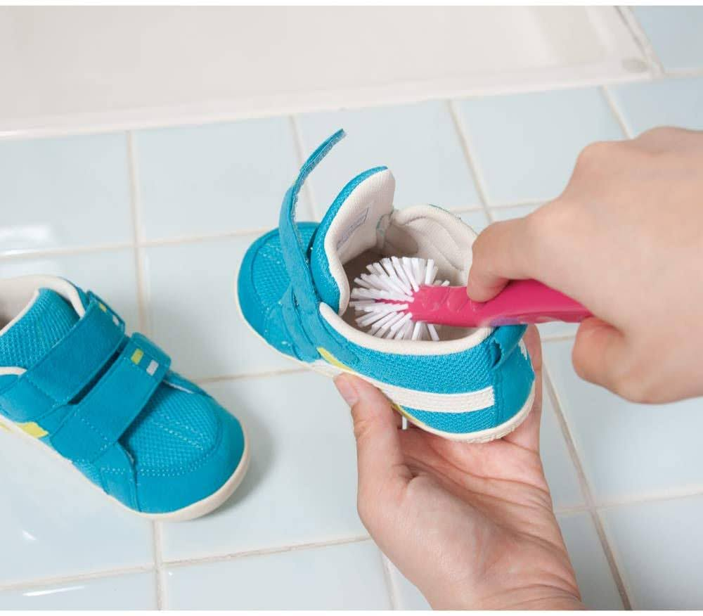 アズマ ブラシ ぐるぐる洗えるシューズブラシ-five-sneaker-washing-brush-Azuma-Shoe-Cleaning-Brush