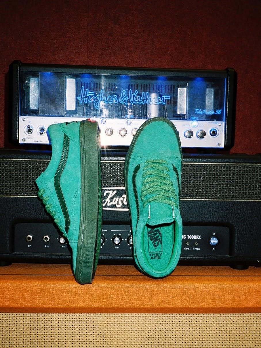 """バンズ x ゼイ アー """"ザ イヤー オブ ザ OX"""" コレクション vans-they-are-the-yaer-of-the-ox-collection-oldskool-green-look2"""