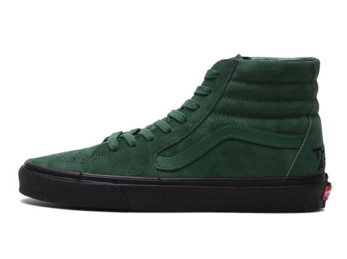 """バンズ x ゼイ アー """"ザ イヤー オブ ザ OX"""" コレクション vans-they-are-the-yaer-of-the-ox-collection-sk8-hi-green"""