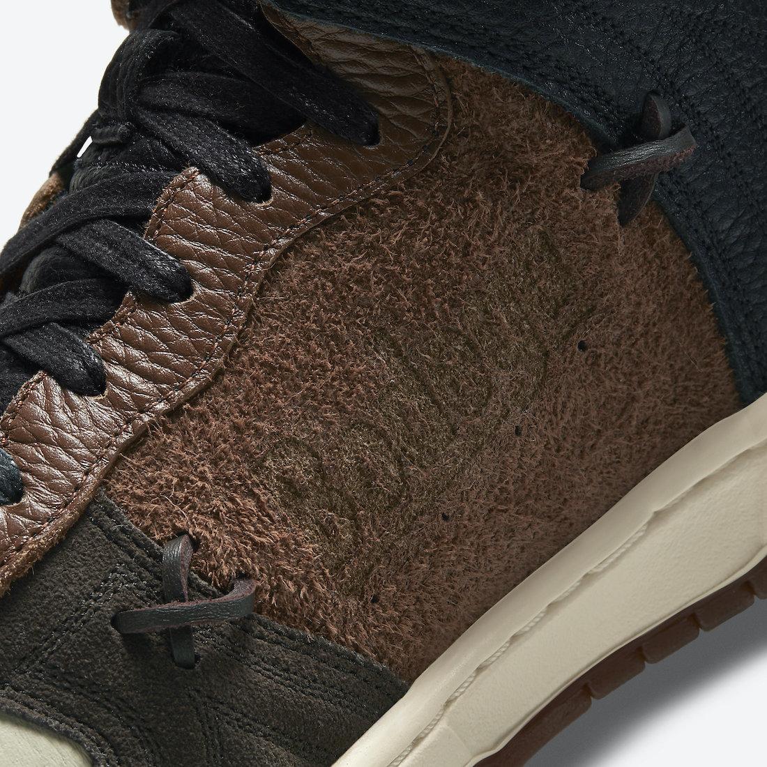 ボデガ × ナイキ ダンク ハイ Bodega-Nike-Dunk-High-Sail-Birch-Rustic-Multi-Color-CZ8125-100 main