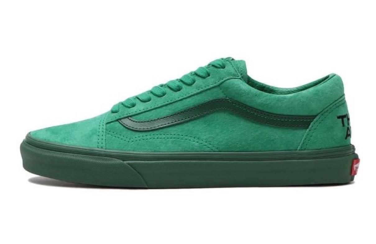 """バンズ x ゼイ アー """"ザ イヤー オブ ザ OX"""" コレクション vans-they-are-the-yaer-of-the-ox-collection-oldskool-green"""