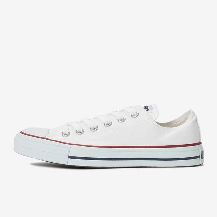 【CONVERSE】オールスター(ベージュ・ホワイト)2020-ladies-sneakers-ranking-CANVAS-ALL-STAR-OX-optical-white