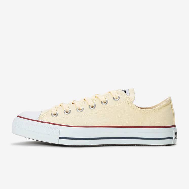 【CONVERSE】オールスター(ベージュ・ホワイト)2020-ladies-sneakers-ranking-CANVAS-ALL-STAR-OX-white