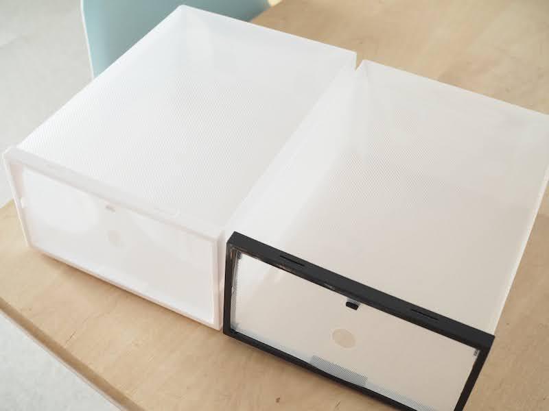 キャンドゥ ダイソー スニーカー 収納 シューズ ケース ボックス Cando-Daiso-Sneaker-Storage-Box-Ideas