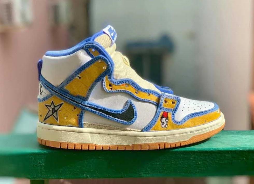 カーペット カンパニー × ナイキ SB ダンク ハイ Carpet-Company-x-Nike-SB-Dunk-High-CV1677-100-side