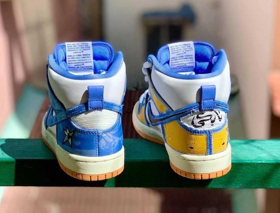 カーペット カンパニー × ナイキ SB ダンク ハイ Carpet-Company-x-Nike-SB-Dunk-High-CV1677-100-pair-heel