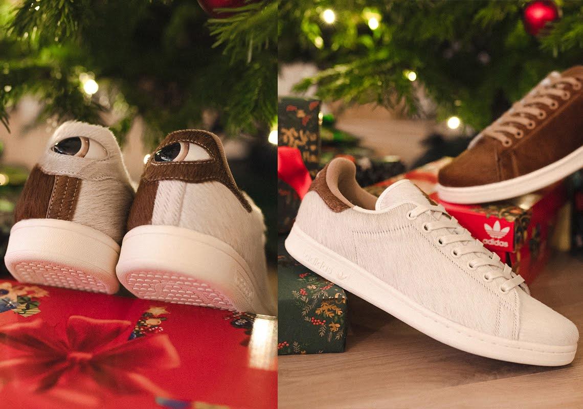 グレムリン アディダス スニーカー コラボ スタンスミス クリスマス 2020年 Gremlin-adidas-Stan-Smith-Christmas-Monster-S42669