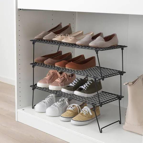 イケア グレイグ スニーカー 収納 棚 おすすめ DIY IKEA-GREJIG-Sneaker-Storage-ideas