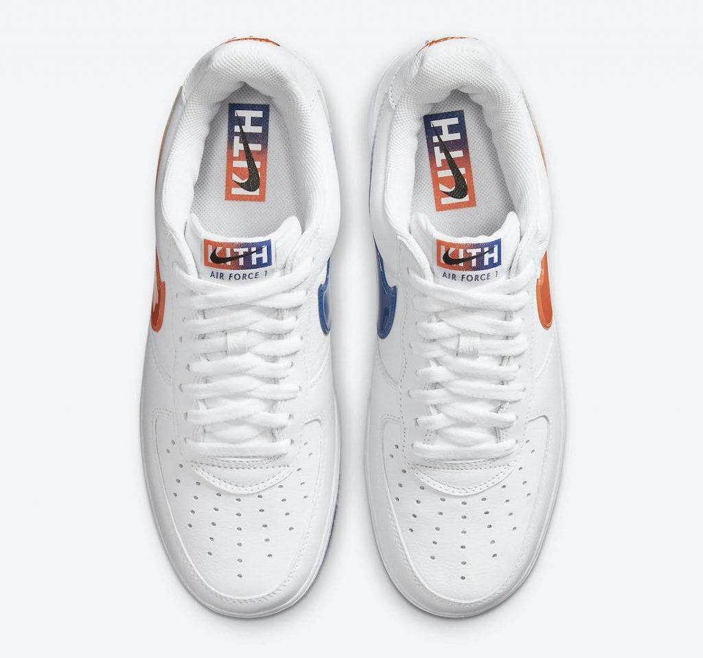 """キス x ナイキ エア フォース 1 ロー """"NYC""""-Kith-Nike-Air-Force-1-NYC-White-CZ7928-100-top"""