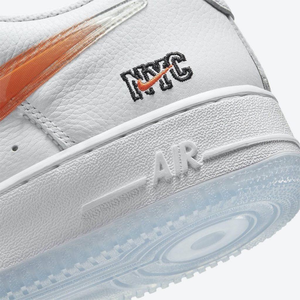 """キス x ナイキ エア フォース 1 ロー """"NYC""""-Kith-Nike-Air-Force-1-NYC-White-CZ7928-100-nyc-logo"""