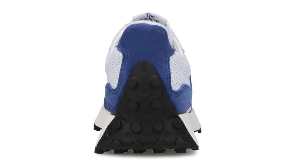 """ニューバランス 327 """"プライマリーパック""""-new-balance-327-white-blue-MS327PF-heel"""