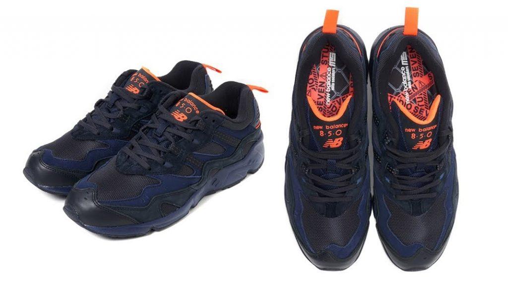 スタジオ セブン × ミタ スニーカーズ × ニューバランス ML 850-Studio Seven × Mita Sneakers × New Balance ML850-ML850-MB2-top-pair