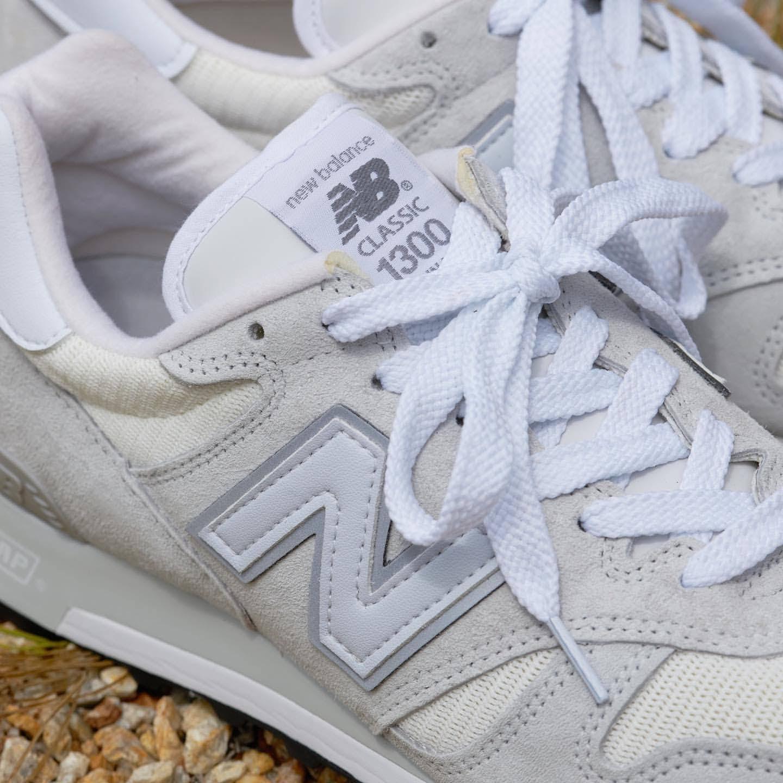 ニューバランス 1300 ホワイト USA モデル New-Balance-M1300-CLW-White atmos shoelace