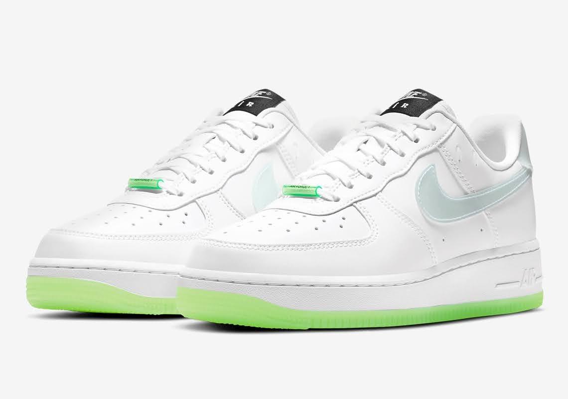 ナイキ エア フォース 1 ハブ ア ナイキ デー グロー イン ザ ダーク ホワイト Nike-Air-Force-1-Low-Have-A-Nike-Day-CT3228-100-CT3228-701 main